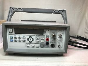 Agilent 53147a Microwave Frequency Counter power Meter dvm 20ghz
