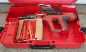 Hilti Dx 750 Low Velocity Powder Actuated Nail Gun 1000 Red Cartriges