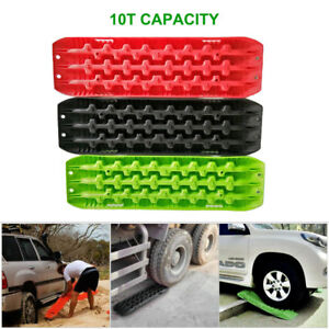 2 Sand Snow Mud Recovery Tracks Traction Tire Ladder 4wd Off Road Atv Truck Set