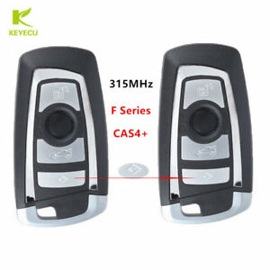 4btn Replacement Remote Key Fob 315mhz With Chip For Bmw F Series 5 7 X3 Cas4