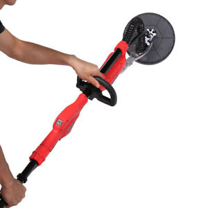750 W Electric Adjustable Variable Speed Drywall Sander With Telescopic Handle