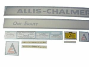 Allis Chalmers Ac 180 Decal Set