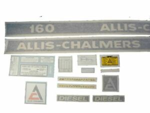 Allis Chalmers Ac 160 160 Diesel Decal Set