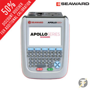 Seaward Apollo 600 Pat Tester Optional Elite 2 Bt Printer Scanner Software