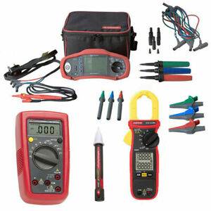 Amprobe Proinstall 75 uk Multifunction Tester Clamp Meter And More Kit4m