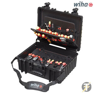 Wiha 80pc Tool Set Electrician Competence Xl 40523 Vde insulated Screwdriver Kit