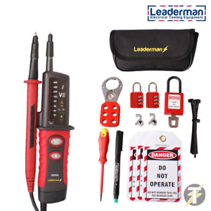 Leaderman Tpt900 Voltage Continuity Tester Mcb Lock Out off Kit Los k1