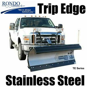 Trip Edge Stainless Steel Snow Plow Snowdogg Te80 Reliable Strong Watch Video