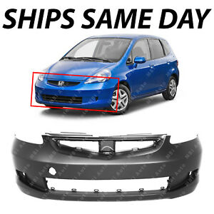Brand New Primered Front Bumper Cover Fascia For 2007 2008 Honda Fit Base Dx Lx