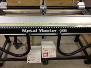 Van Mark Metal Master Brake 10ft With 20 Throat Has Stand Trim Cutter Former