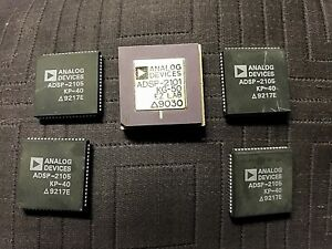 5 Analog Devices 1 adsp 2100 Kg 50 And 4 Adsp 2105 Kp 40 Dig Signal Pro