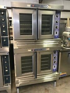 Bakers Pride Double Stack Convection Ovens cyclone Series