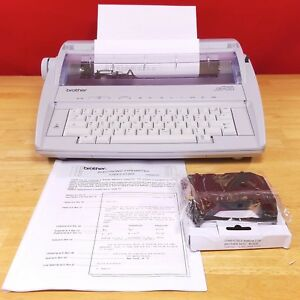Brother Gx 6750 Gx6750 Daisy Wheel Electronic Typewriter With New Ribbon Tested