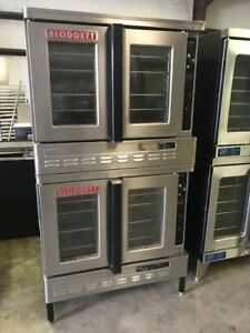 Blodgett Dual Flow Double Stack Convection Ovens