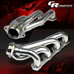 For 94 95 Pony Mustang 5 0l V8 Gt Svt Stainless Exhaust Manifold Shorty Header