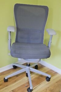 Premium Haworth Zody Chair Gray Msrp 1480 Most Comfortable Chair On Market