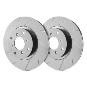 For Audi 80 Quattro 88 92 Sp Performance Slotted 1 Piece Front Brake Rotors