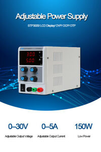 30v 5a Regulated Dc Power Supply 3 digit Display Voltage Regulators Stabilizers