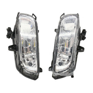 Front Left Right Halogen Fog Lights Lamp Square For Audi A8 A8 Quattro D3 08 10