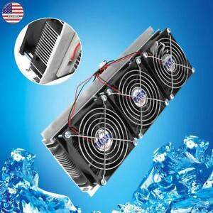 Thermoelectric Peltier Semiconductor Refrigeration Water Cooling System 126w 15a