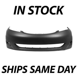 New Primered Front Bumper Fascia Cover For 2006 2010 Toyota Sienna Minivan 06 10