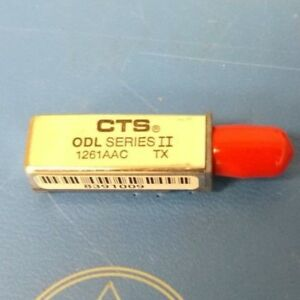 Cts Odl 1261aactx Fiber Optic Transmitter 16 pin Dip Module New
