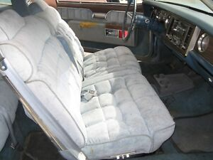1977 Buick Riviera Left And Right Power Front Seats