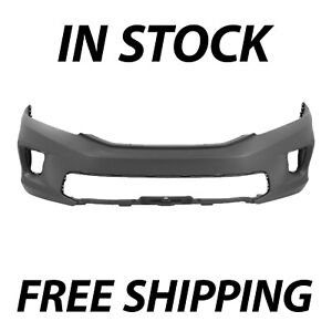 New Primered Front Bumper Fascia Cover For 2013 2015 Honda Accord Coupe 2 Door