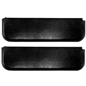 1947 1959 Chevy Pickup Truck Windshield Sun Visor Pads Black Pair Right