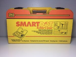 Md Smart Dot Builder s Laser Precision Laser Leveling System Brand New