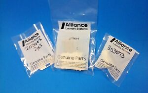 Alliance Speed Queen 205222 Complete Washer Latch kit 204698 203643 new