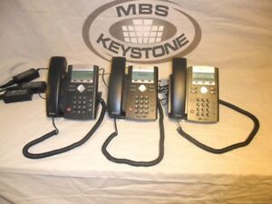 Soundpoint Ip 335 Voip Office Phones W Power Adapters Hand Sets And Cables