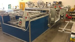 Sibe Automation Vacuum Forming Machine 48 X 48 2 Station Top Bottom Heaters