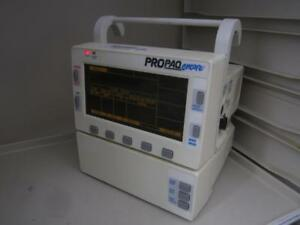 Welch Allyn Propaq Encore 206 El Spo2 Ecg Patent Monitor Ecg Nibp Printer 206el