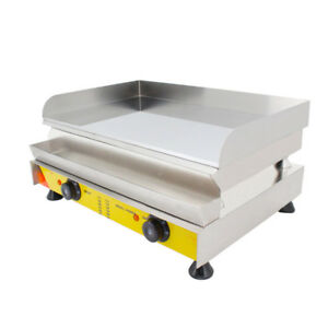 21 Commercial Electric Grill Griddle Dorayaki Teppanyaki Machine 110v