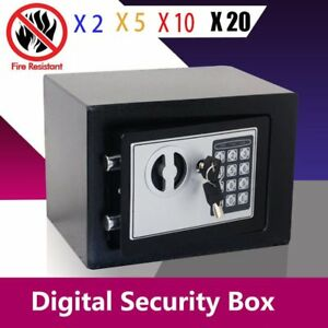 Lot 1 20x 14 Durable Digital Electronic Safe Box Keypad Lock Office Hotel Gun U