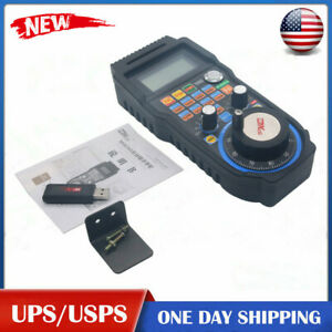 Cnc Mach3 Wireless Electronic Handwheel 6 axis Manual Controller Usb Mpg Us