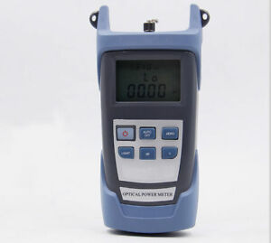High precision Optical Power Meter Fiber Tester Light Decay Tester 800 1700nm
