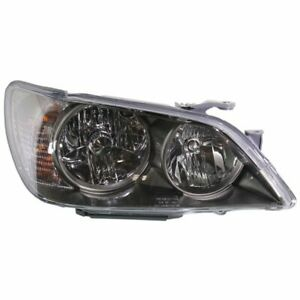 Headlight For 2004 2005 Lexus Is300 Right Clear Lens With Bulb Composite Type