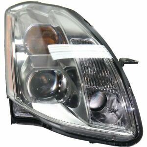 Headlight For 2005 2006 Nissan Maxima Right Clear Lens Halogen Composite Type