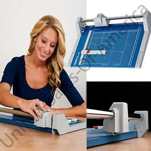 Professional Rolling Trimmer Self Sharpening Automatic Clamp Paper Cutter 14 1 8