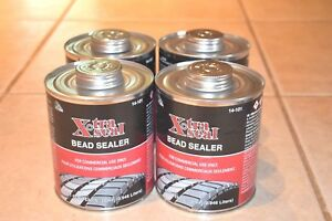 4 Xtra Seal Black Bead Sealer 32oz Quart Can With Brush Tire Repair 14 101
