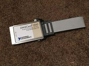 National Instruments Pcmcia Daqcard 1200 Ni Daq Card Analog Input Cable