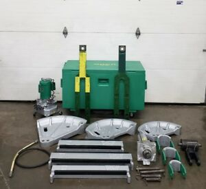 Greenlee 881 Hydraulic Pipe Bender 960 Pump 2 1 2 3 4 Emt Imc Rigid Nice
