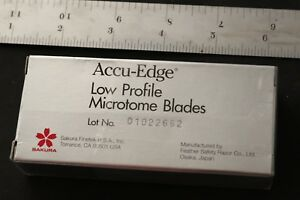 Accu edge Low Profile Microtome Blades 50 Blades