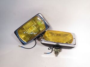 Fog Lamps New Old Stock Cibie Series 95 Amber Qty 2 95 01 01