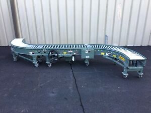 Hytrol Case Conveyor s Curve With 2 90 Degree Curves And Straight