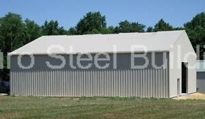 Durobeam Steel 40x60x12 Metal Garage Storage Auto Salvage Building Shop Direct