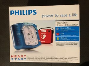 New In Box 2018 Philips Heartstart Home Aed M5068a 2020 Pads 8 Year Warranty