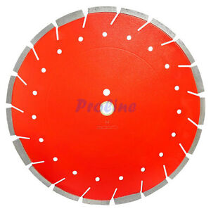 Red 14 X 125 X 1 Wet dry Diamond Saw Blade Cutter Cutting Concrete Brick